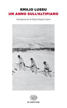 Un anno sull'altipiano - Emilio Lussu - ebook