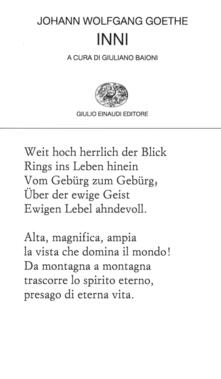 Inni - Giuliano Baioni,Johann Wolfgang Goethe - ebook