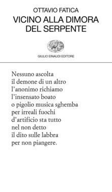 Vicino alla dimora del serpente - Ottavio Fatica - ebook