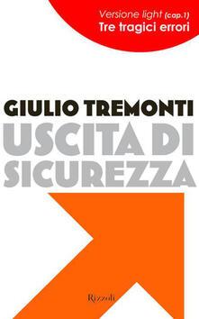 Uscita di sicurezza - Giulio Tremonti - ebook