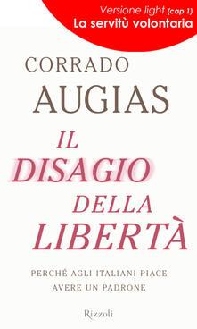 Il disagio della libertà - Corrado Augias - ebook