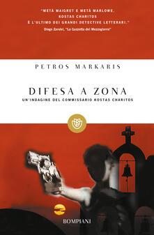 Difesa a zona - Andrea Di Gregorio,Petros Markaris - ebook