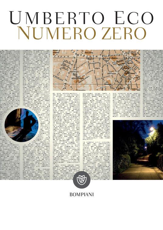 Numero zero - Umberto Eco - ebook