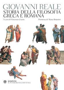 Storia della filosofia greca e romana - Giovanni Reale,Vincenzo Cicero - ebook