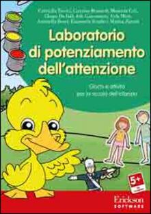 Listadelpopolo.it Laboratorio di potenziamento dell'attenzione. Giochi e attività per la scuola dell'infanzia. CD-ROM Image