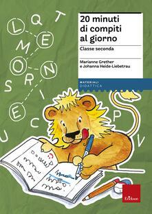 20 minuti di compiti al giorno. Per la classe seconda.pdf