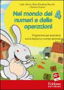 Voluntariadobaleares2014.es Nel mondo dei numeri e delle operazioni. Con CD-ROM. Vol. 4: Programma per esercitarsi con le frazioni e i numeri decimali. Image