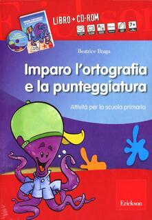 Promoartpalermo.it Kit imparo l'ortografia e la punteggiatura. Attività per la scuola primaria. Con CD-ROM Image