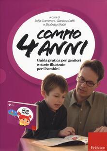 Radiospeed.it Compio 4 anni: Faccio da me! Guida pratica per genitori e storie illustrate per i bambini Image