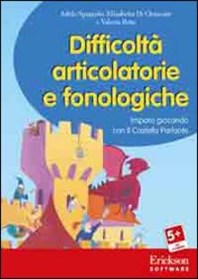 Daddyswing.es Difficoltà articolatorie e fonologiche. Imparo giocando con il Castello Parlante. CD-ROM Image