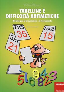 Camfeed.it Tabelline e difficoltà aritmetiche. Attività per la prevenzione e il trattamento Image