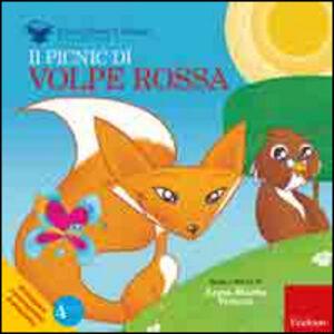 Foto Cover di Il picnic di volpe Rossa, Libro di Anna M. Venera, edito da Erickson
