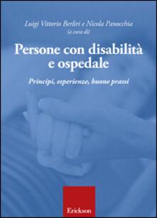 Promoartpalermo.it Persone con disabilità e ospedale. Principi, esperienze, buone prassi Image