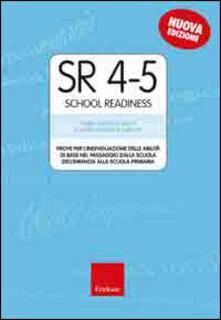 Camfeed.it SR 4-5 (School Readiness). Prove per l'individuazione delle abilità di base nel passaggio dalla scuola dell'infanzia alla scuola primaria Image