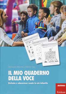 Criticalwinenotav.it Il mio quaderno della voce. Disfonia e educazione vocale in età infantile Image