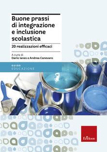 Buone prassi di integrazione e inclusione scolastica - copertina