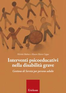 Secchiarapita.it Interventi psicoeducativi nella disabilità grave. Gestione di servizi per persone adulte Image