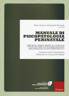 Listadelpopolo.it Manuale di psicopatologia perinatale. Profili psicopatologici e modalità di intervento Image