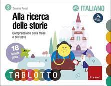 Winniearcher.com Tablotto schede alla ricerca delle storie. Comprensione della frase e del testo. Schede per Tablotto 7+ italiano Image