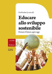 Educare allo sviluppo sostenibile - copertina