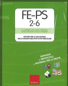 Listadelpopolo.it FE-PS 2-6. Batteria per la valutazione delle funzioni esecutive in età prescolare. Con Giocattolo morbido. Con Poster Image