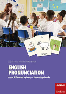 Voluntariadobaleares2014.es English pronunciation. Corso di fonetica inglese per la scuola primaria. Con 360 Carte Image
