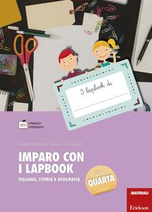 Imparo con i lapbook. Italiano, storia e geografia. Classe quarta. Con schede.pdf