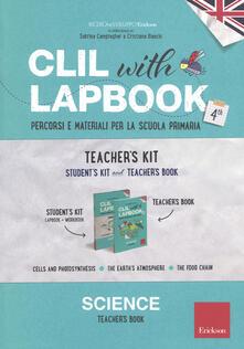 Cocktaillab.it CLIL with lapbook. Science. Quarta. Teacher's kit Image