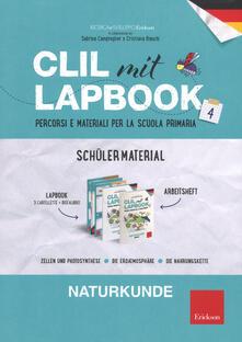 Vitalitart.it CLIL mit lapbook. Naturkunde. Quarta. Schüler material Image