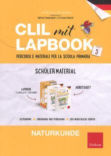 Osteriacasadimare.it CLIL mit Lapbook. Naturkunde. Quinta. Schüler material Image