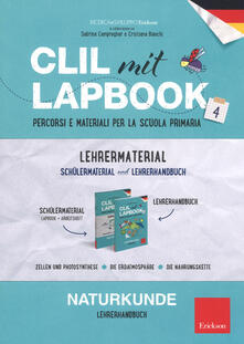 Capturtokyoedition.it CLIL mit lapbook. Naturkunde. Quarta. Lehrer material Image