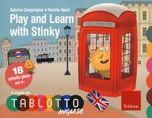 Capturtokyoedition.it Play and learn with Stinky. Classe quinta. Le schede del Tablotto. Con espansione online Image