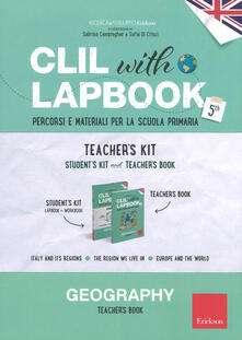 Camfeed.it CLIL with lapbook. Geography. Quinta. Teacher's kit Image
