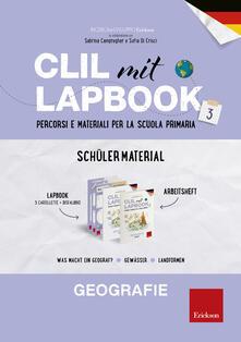 Steamcon.it CLIL mit Lapbook. Geografie. Terza. Schülermaterial. Per la Scuola elementare Image