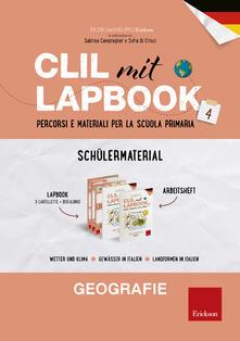 CLIL mit lapbook. Geografie. Quarta. Schülermaterial. Per la Scuola elementare - copertina