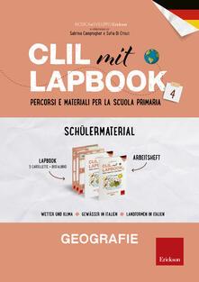 Rallydeicolliscaligeri.it CLIL mit Lapbook 4. Geografie. Lehrermaterial. Per la Scuola elementare Image