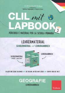 Warholgenova.it CLIL mit lapbook 5. Geographie. Lehrermaterial Image