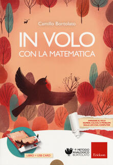 In volo con la matematica. Con USB Flash Drive - Camillo Bortolato - copertina