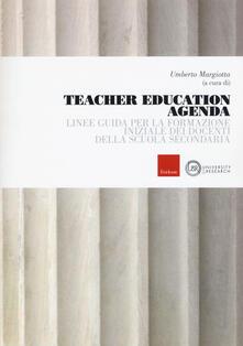 Promoartpalermo.it Teacher education agenda. Linee guida per la formazione iniziale dei docenti della scuola secondaria Image