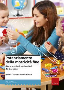 Listadelpopolo.it Potenziamento della motricità fine. Giochi e attività per bambini dai 2 ai 6 anni Image
