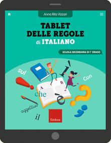 Amatigota.it Tablet delle regole di italiano. Scuola secondaria di 1º grado. Ediz. a spirale Image