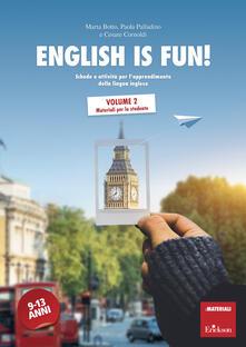 Mercatinidinataletorino.it English is fun!. Vol. 2: Materiali per lo studente. Image