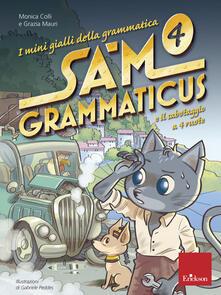 Filippodegasperi.it I mini gialli della grammatica. Vol. 4: Sam Grammaticus e il sabotaggio a 4 ruote. Image