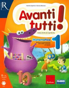 Festivalshakespeare.it Avanti tutti! Matematica. Per la Scuola elementare. Vol. 1 Image