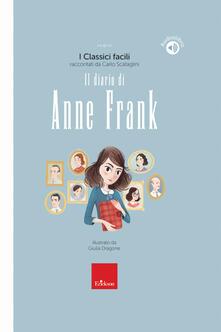 Filippodegasperi.it Il diario di Anne Frank. Con audiolibro Image