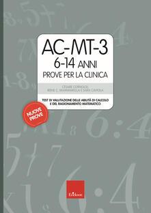 Steamcon.it AC-MT-3 6-14 anni. Prove per la clinica Image