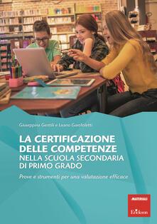 Nordestcaffeisola.it La certificazione competenze scuola secondaria primo grado. Prove e strumenti per una valutazione efficace Image