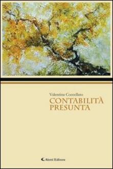 Contabilità presunta - Valentina Coccellato - copertina
