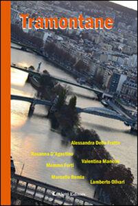 Foto Cover di Tramontane, Libro di  edito da Aletti