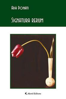 Signatura rerum - Ada Donati - copertina